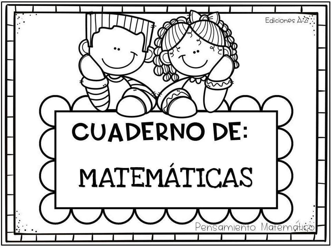 Cuaderno Para Desarrollar El Pensamiento Matematico 60 Paginas 1 Cuadernos De Matematicas Primeros Grados Pensamiento Matematico Preescolar