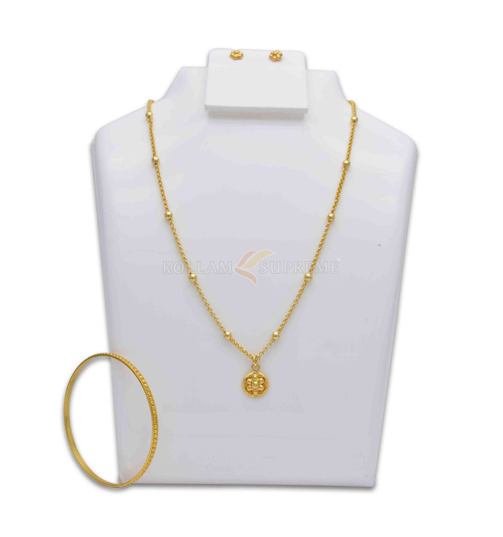 Gold Plated Daily Wear Jewellery Combo Set 11 | Fashion Jewellery ...