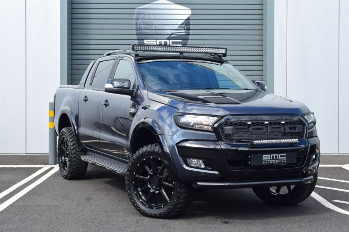 Ford Ranger Wildtrak 3 2 Tdci 4wd Double Cab Smc Hawk Edition Own