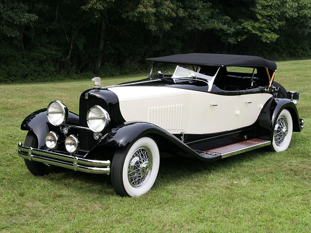 1931 duPont Model H Merrimac Sport Phaeton Maintenance/restoration ...