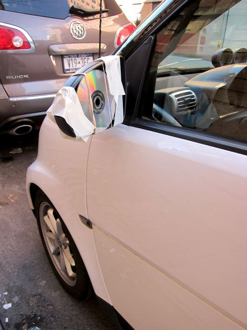 One Of The More Creative And Failing Sideview Mirror Hacks I Ve