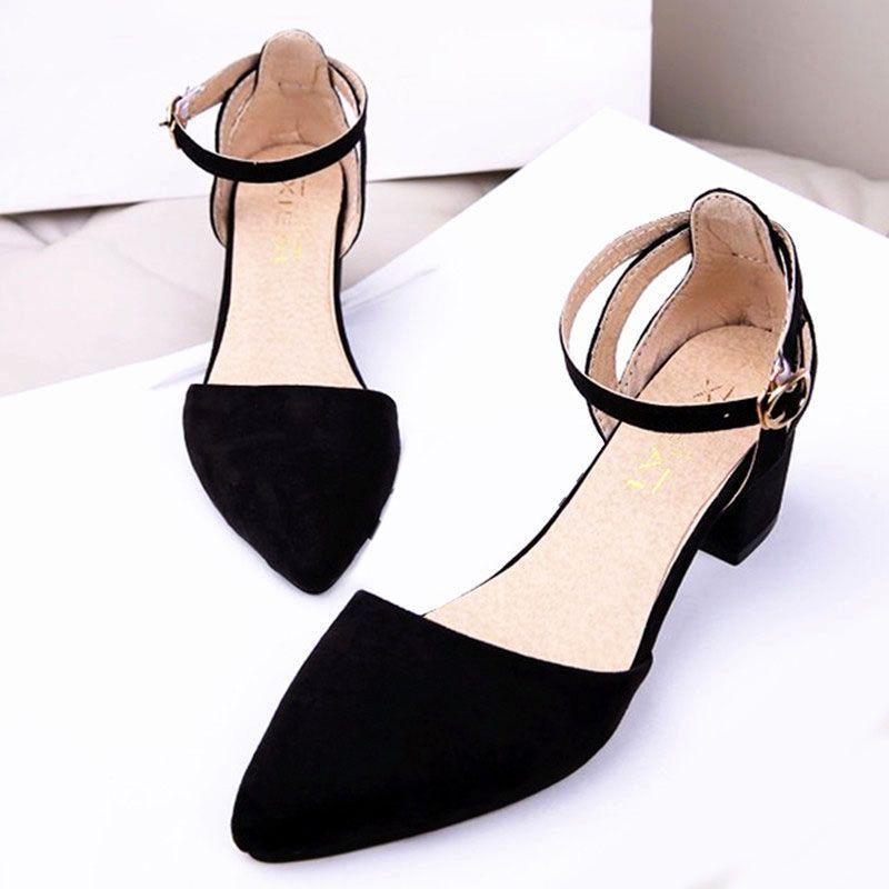 여성 샌들 하이힐 샌들 여성 신발 여성 신발 여름 샌들 블랙