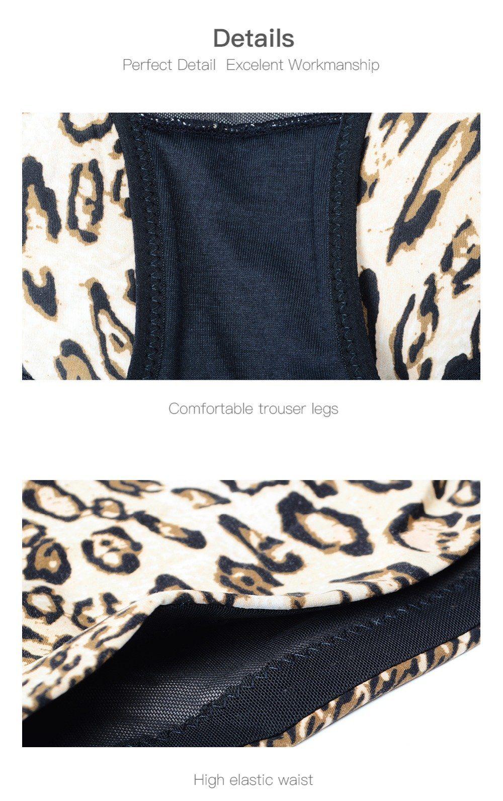 74c2016383 Body Shaper Leopard Print Slimming Briefs Butt Lifter Hip Enhancer High  Waist Seamless Rear Shaper Tummy