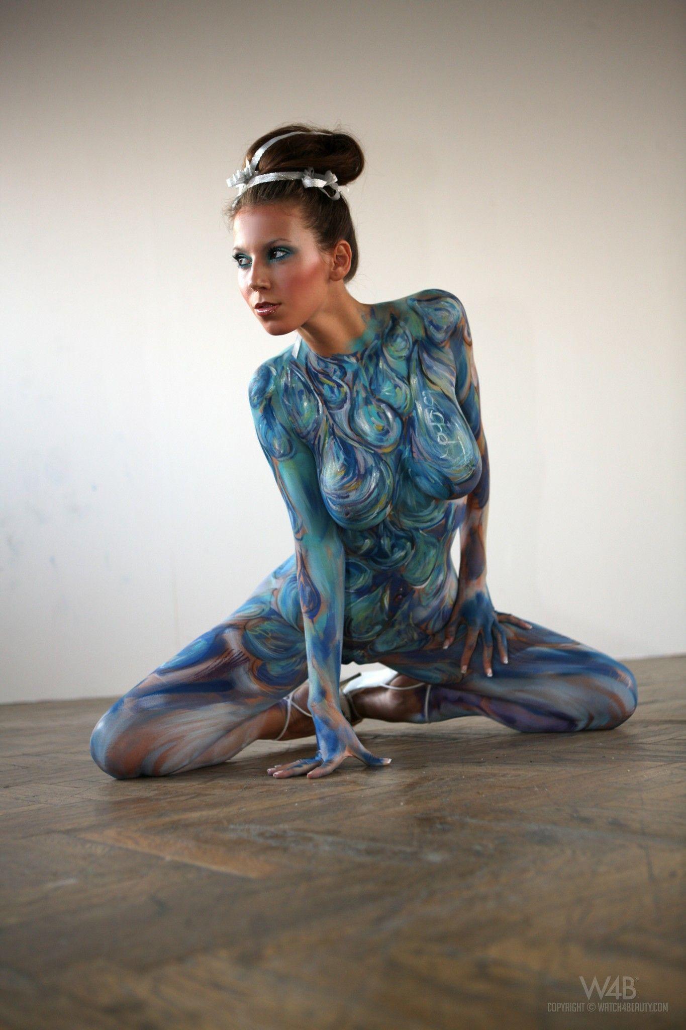 ボード「Nude body art」のピン