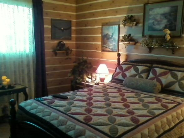 Log cabin bedroom decorating ideas my log cabin bedroom - Log cabin bedroom decorating ideas ...
