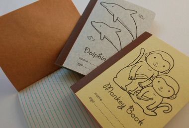 DIY Kids books. Another good party idea.