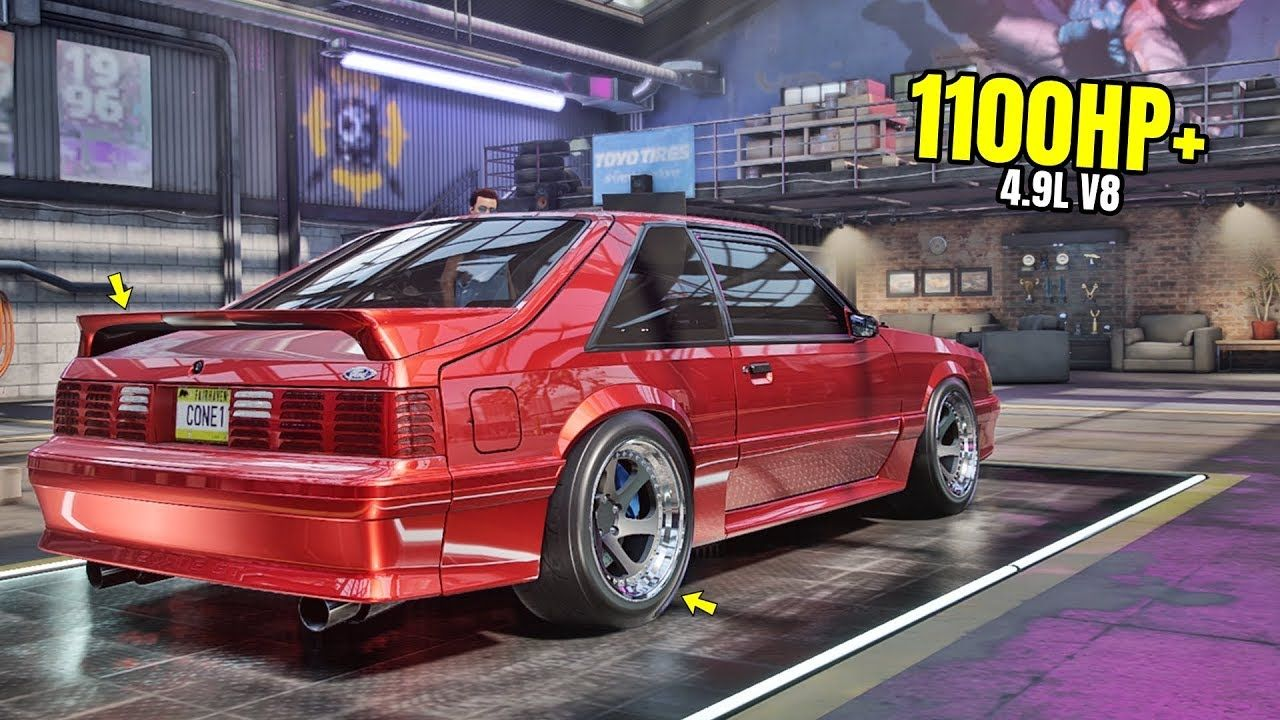 Need For Speed Heat Gameplay 1100hp Ford Mustang Foxbody