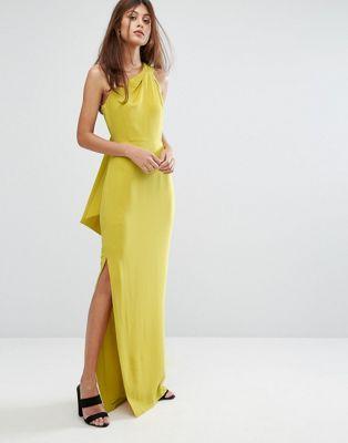 73f26b48f30 Whistles Bethan One Shoulder Maxi Dress