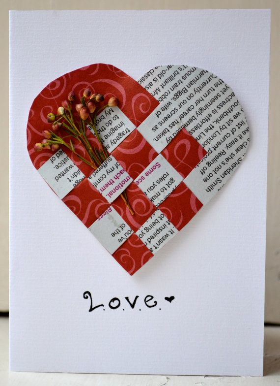 Love Handmade Greeting Card By Cardsbyfrances On Etsy 5 00