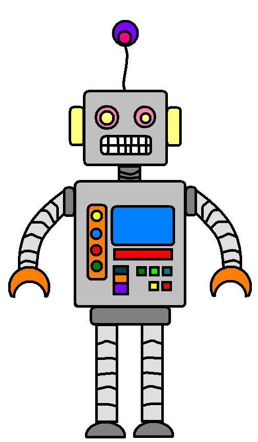 robot great printable decoration hoildays partys pinterest rh pinterest com robot clip art for kids robot clip art face emotions