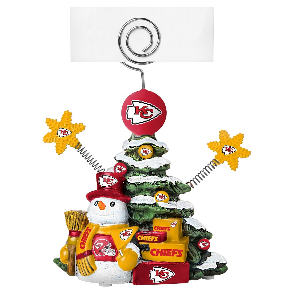 Decorative Holiday Sculpture Topperscot, Kansas City Chiefs