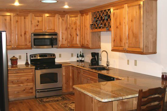 Knotty alder perfect kitchen pinterest knotty alder for Alder wood for kitchen cabinets