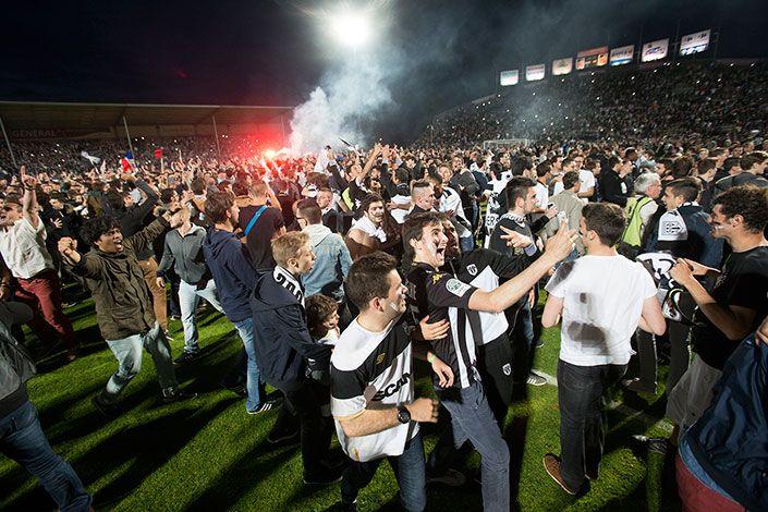 Le SCO en Ligue 1 = la joie
