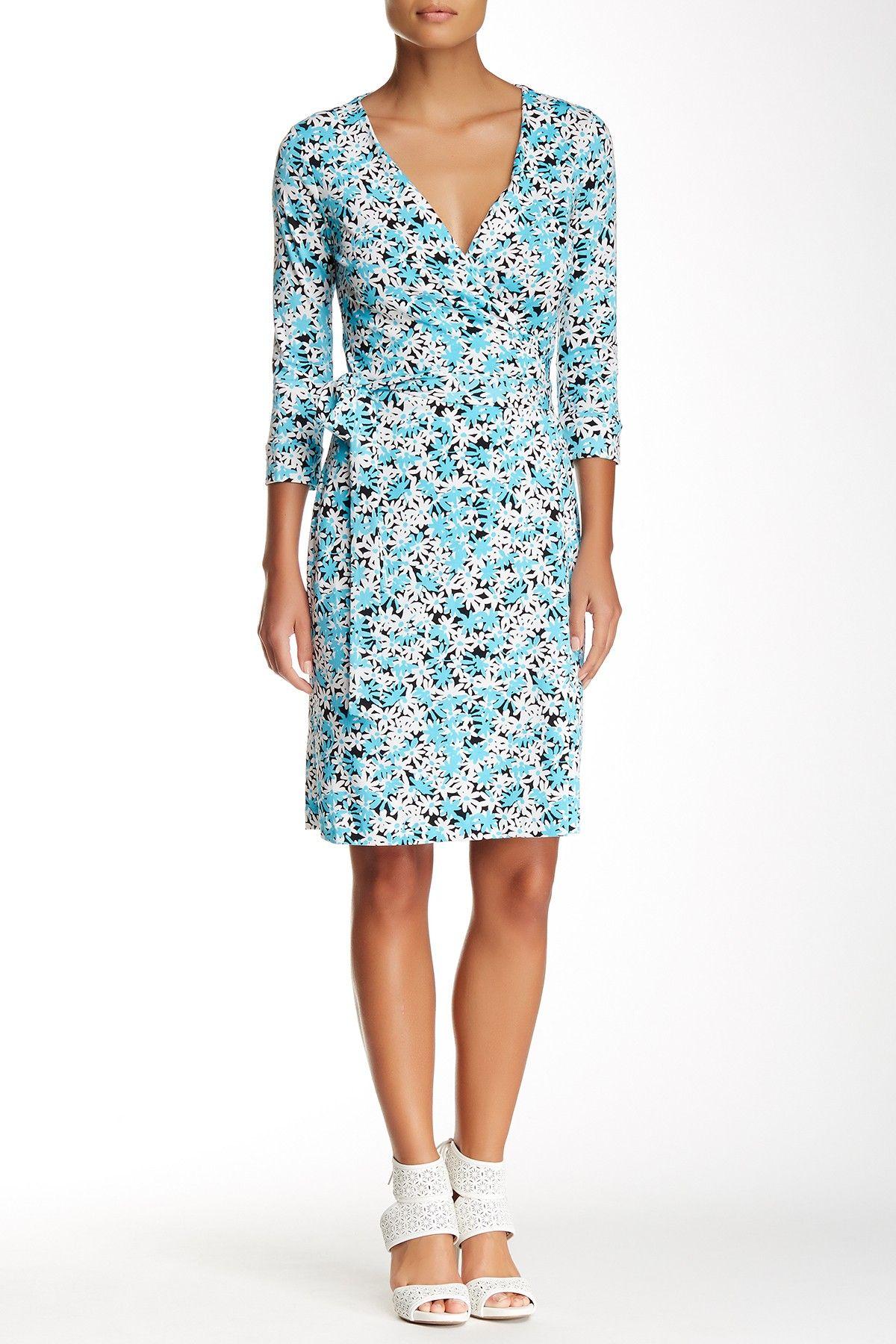 Garden Daisy New Julian Two Wrap Dress by Diane von Furstenberg on @nordstrom_rack