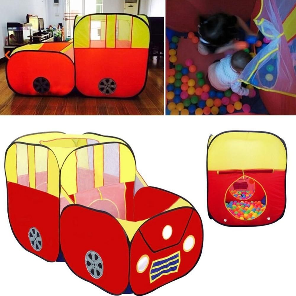 Large Sports Car Shape Play Tent for Kids House Play Hut Children Ocean Balls Pit Pool  sc 1 st  Pinterest & Large Sports Car Shape Play Tent for Kids House Play Hut Children ...
