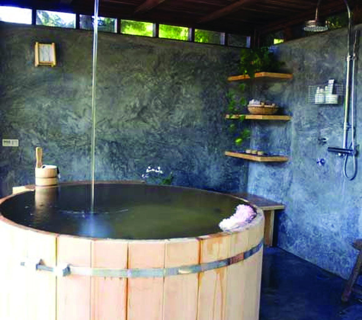 Graceful japanese ofuro soaking tubs to inspire you