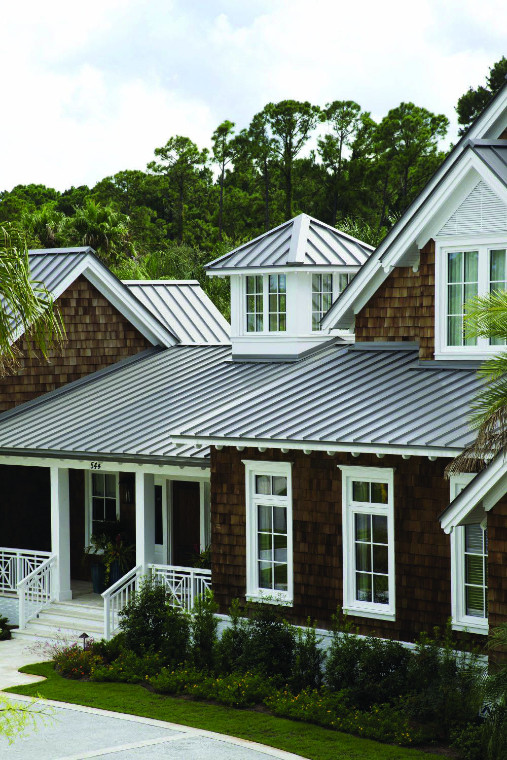 Metal Roofing Homes Tre Shingle House Metal Roof Houses Tin Roof House