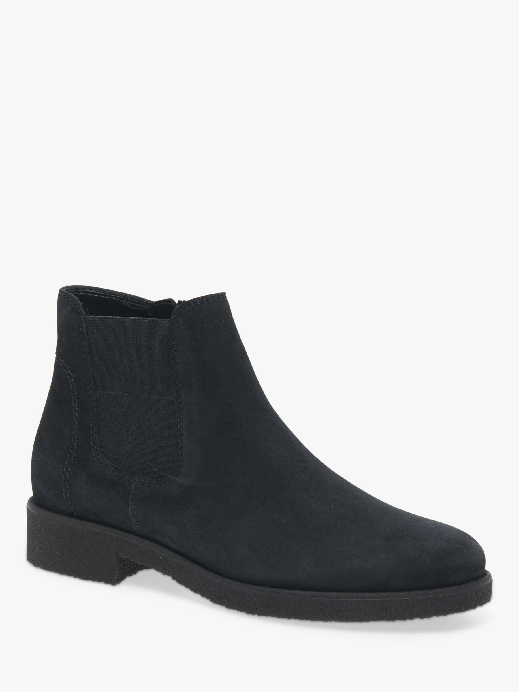 Maeve Wide Fit Zip Suede Ankle Boots