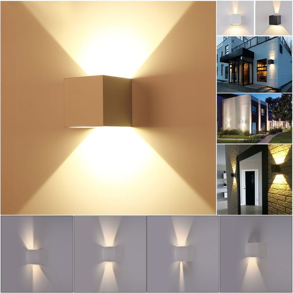 6 X2f 9 X2f 12 X2f 15w Cob Led Downlight Led Flood Light 7w Cob Led Wall Lamp Excellent Ip65 Outdoor Sconce Lighting Led Wall Lamp Indoor Wall Lights