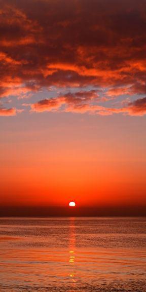 Color Palette Generator Beautiful Sunset Sunrise Photography Red Sunset