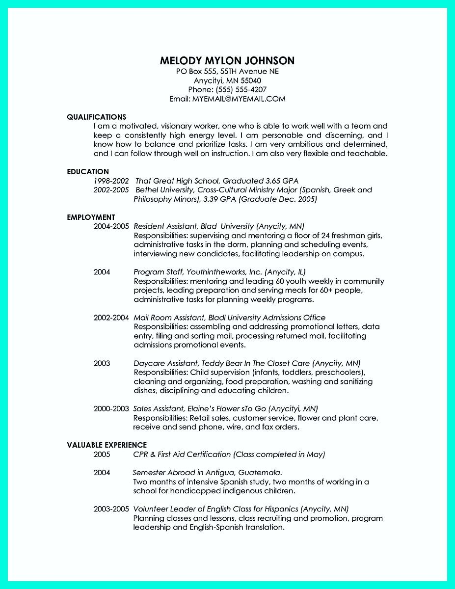 Recent College Graduate Resume Awesome Cool Sample Of College Graduate Resume With No Experience