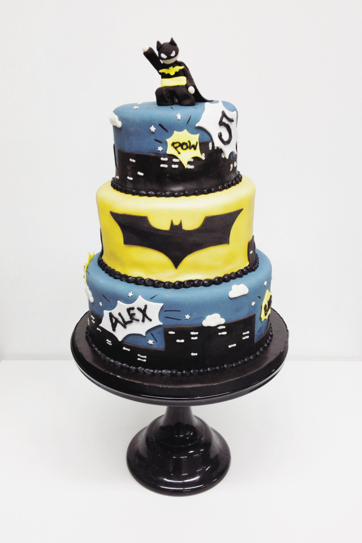 Batman birthday cake // NashvilleSweets.com   Cakes by Nashville ...