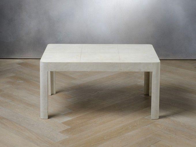Tavolo basso 90 cm pergamena codice 8194000996 - Rivestimento tavolo ...
