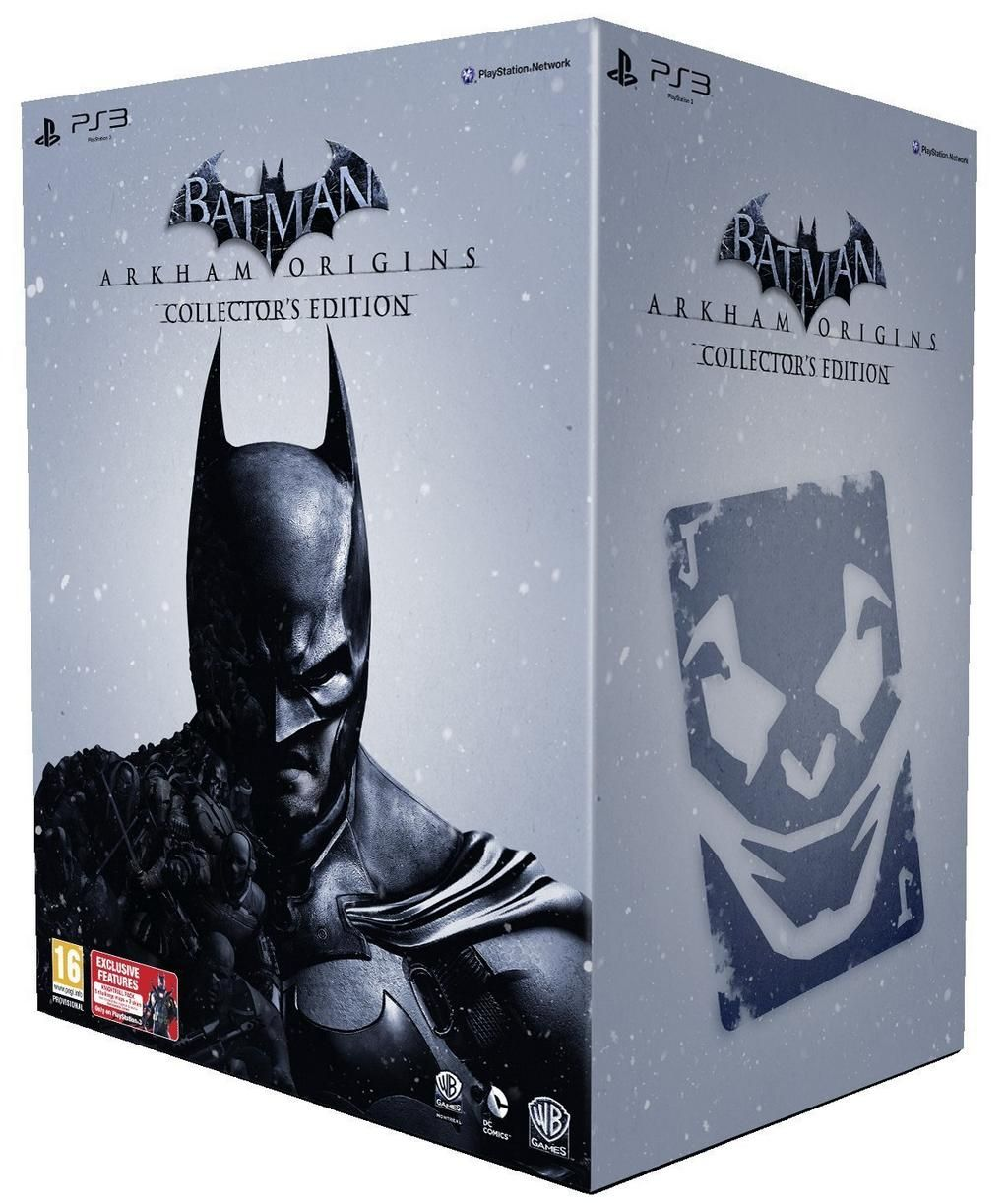 ⬇ PRICE DROP Batman: Arkham Origins Collector's Edition £37.96  ✅ LOWEST EVER PRICE