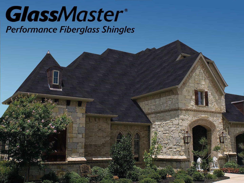 Best Glassmaster Performance Fiberglass Shingles In Black 400 x 300