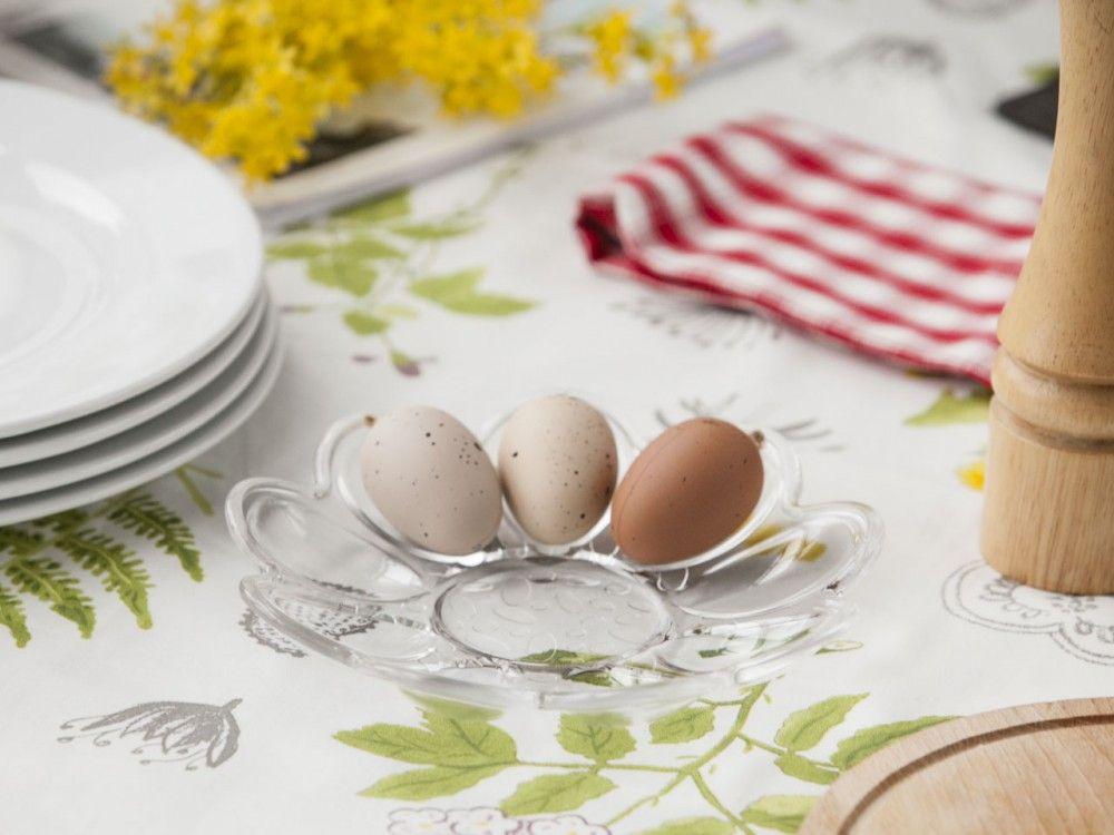 Talerz Polmisek Na Jajka Szklany Huta Jaslo 21 5 Cm Egg Cup Food Cup