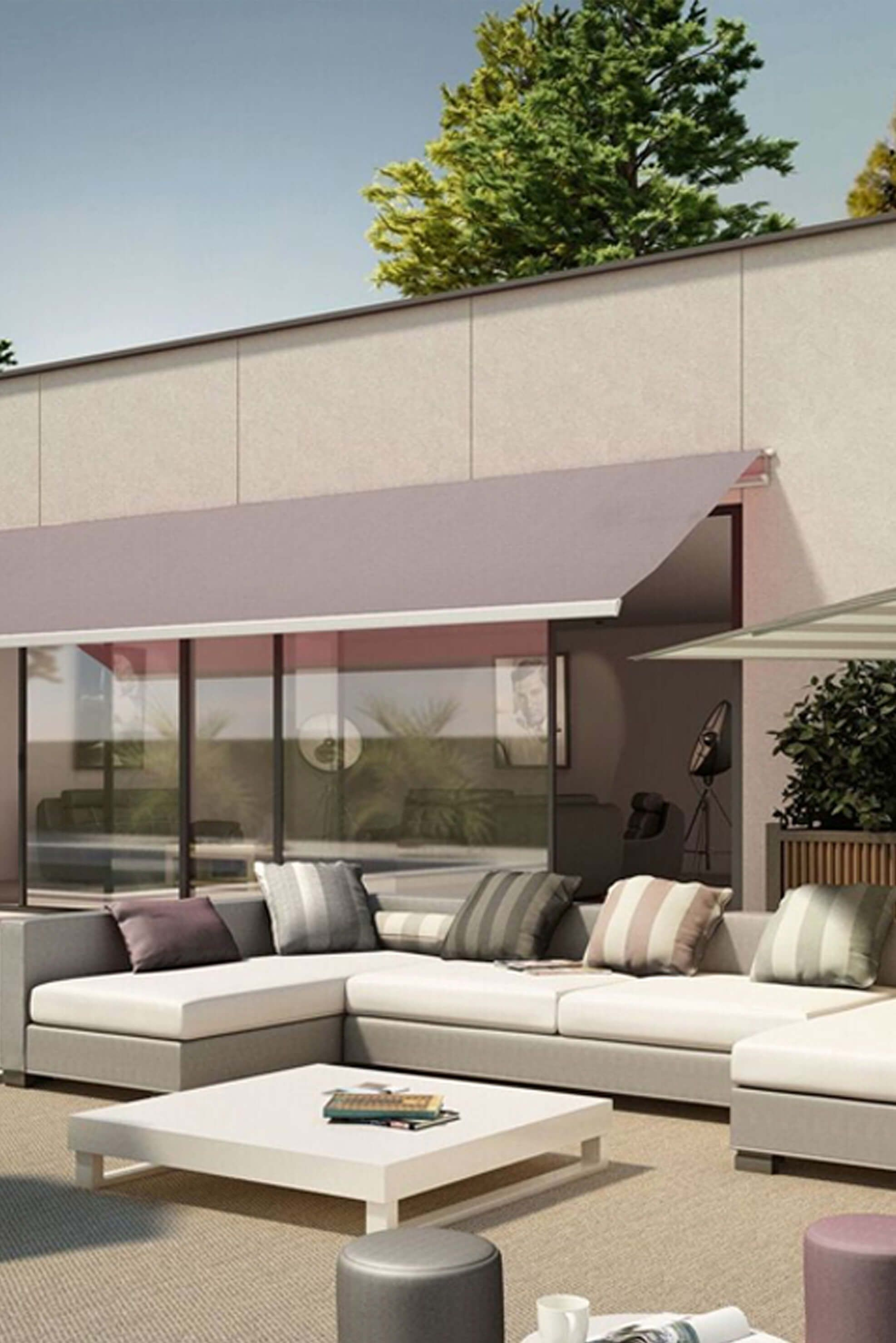 Retractable Awning Shading Patio Furniture Awning Shade Outdoor