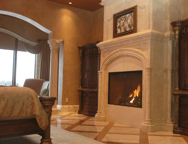 Click on the picture to learn our custom fireplace design process