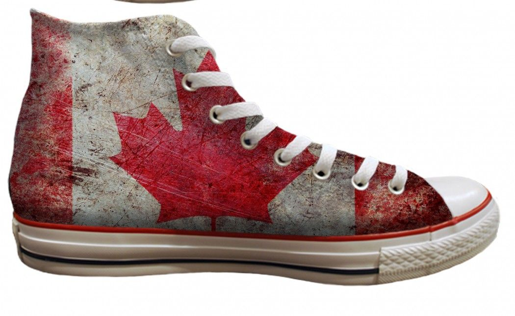 340fcab9b9b0 Converse Chuck Taylor All Star Hi Top Canadian Flag