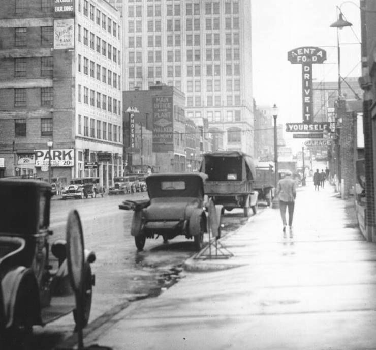 Oak Street Amp 10th 1930s Kansas City Then And Now