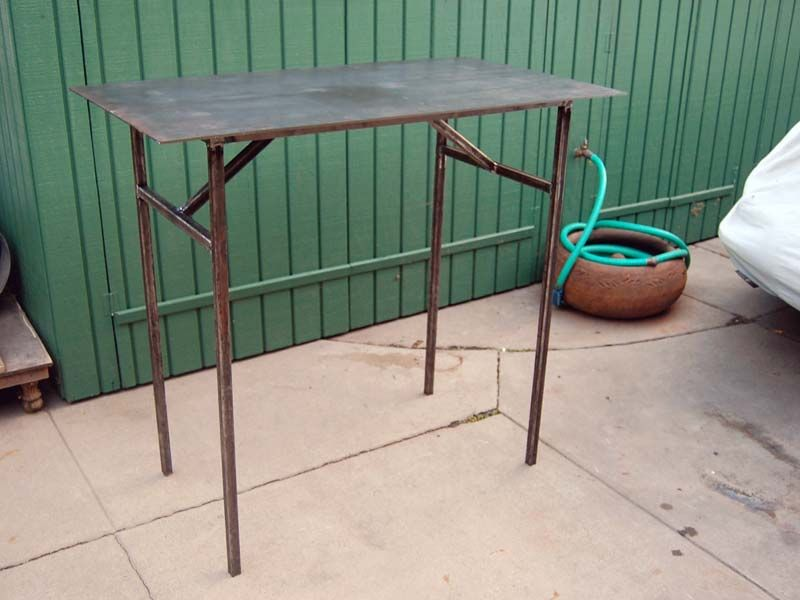 Portable Welding Table Diy Projects Welding And Misc In 2018