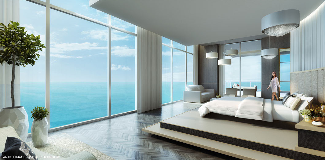 The mansions at acqualina penthouse miami florida