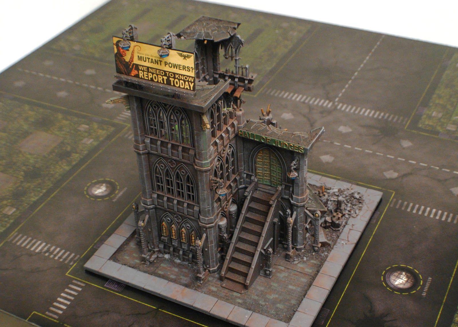 Eye of Error: Building More Realistic Terrain - Ruined Hall