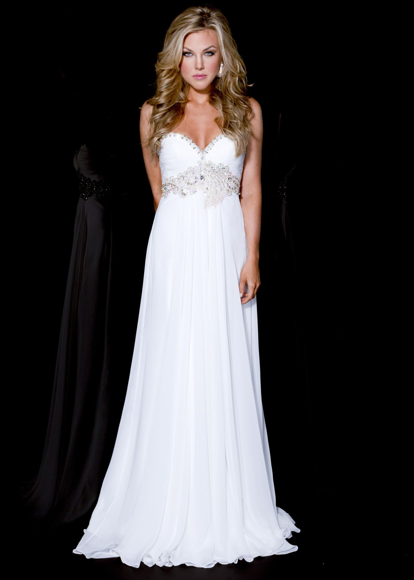 white-evening-gowns-1-2 | White Evening Gowns | Pinterest | White ...