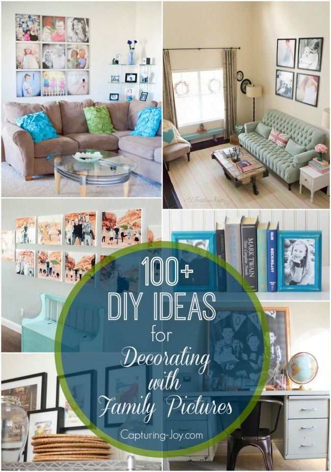 Decorate Your Home With Family Pictures With Images Home Decor