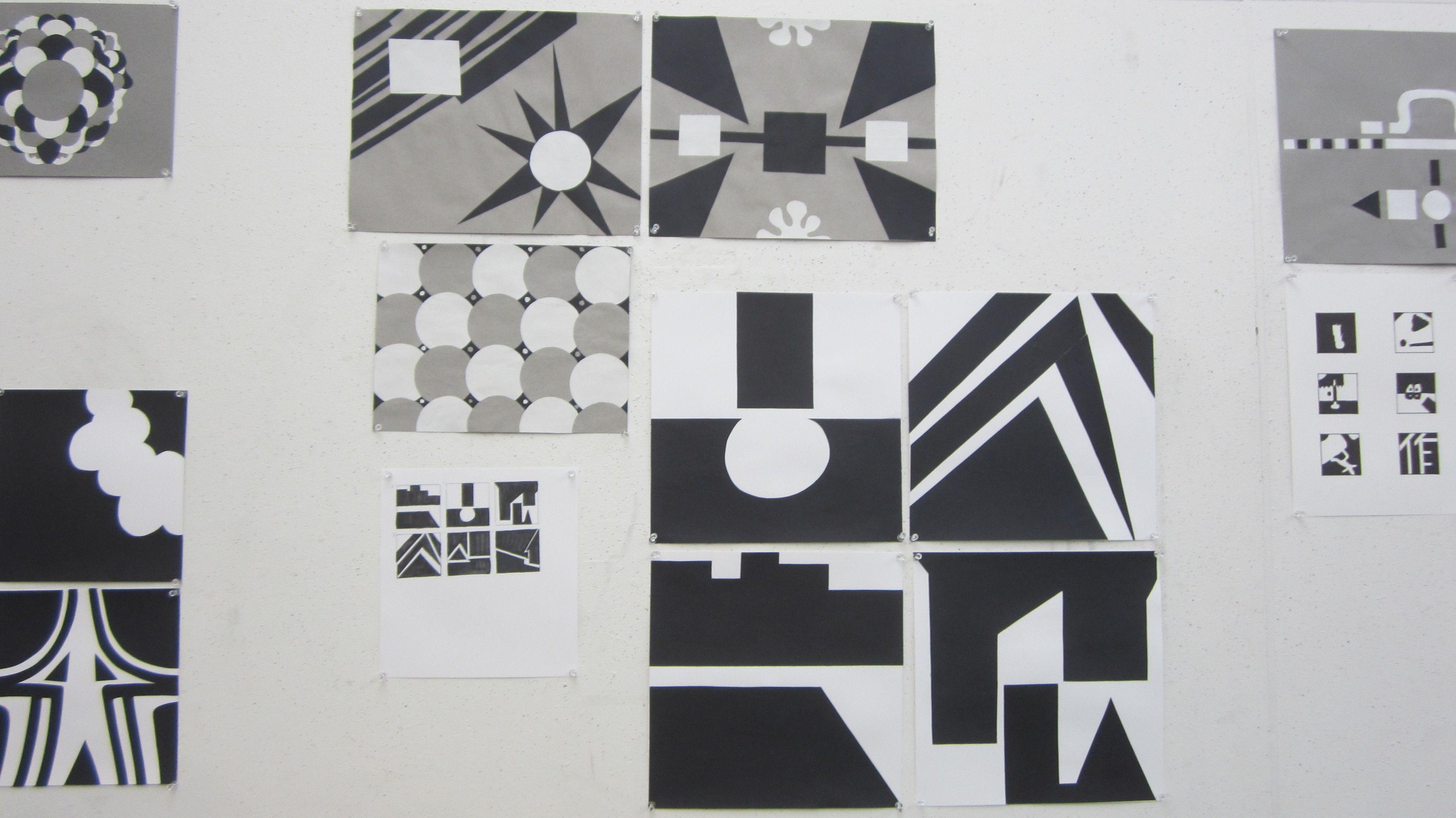 Black White And Gray Symmetry Asymmetry Amp Memory