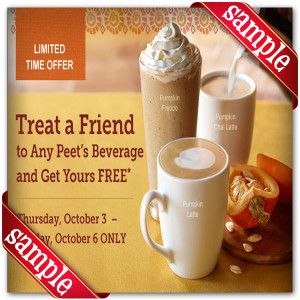 photo about Peet Coffee Printable Coupon named Peets Espresso Tea Printable Coupon December 2016 Coupon codes