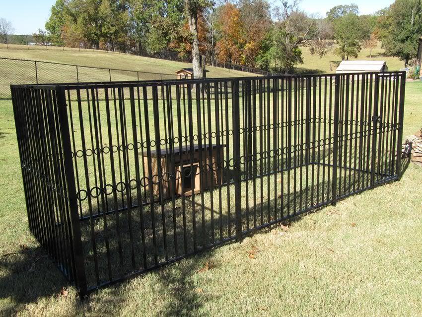 Outdoor Dog Leash Run Home Improvement Dog Kennel