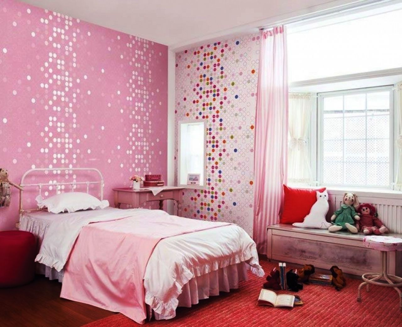 Pink Bedrooms Tag Pink Bedroom Ideas For Little Girl Home Design Inspiration