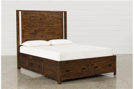 Charles Queen Panel Bed W/Storage - Main | bedroom | Pinterest
