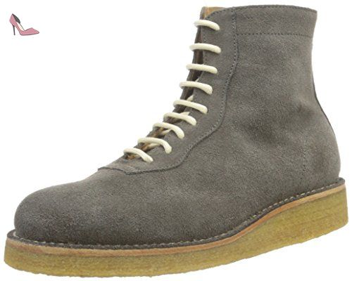Pantofola d'Oro Stadium Anfibio, Desert Boots Femme, Vert (166 Militare), 38.5 EU - Chaussures pantofola doro (*Partner-Link)