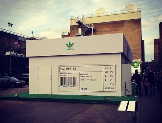 adidas Stan Smith Pop up Store