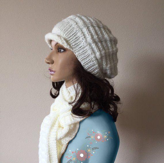 515630175 Hat Scarf Set, Knit Hat Scarf Set for Women, Sparkle Scarf Hat Combo ...