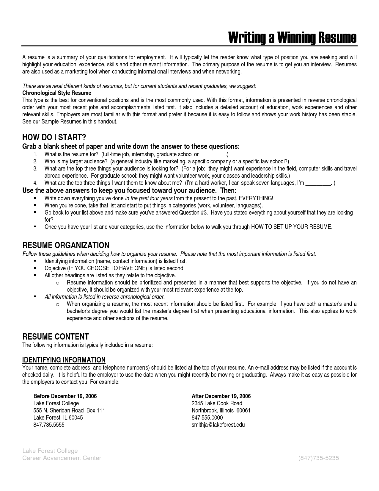 cv career history ordervolunteer work on resume application letter