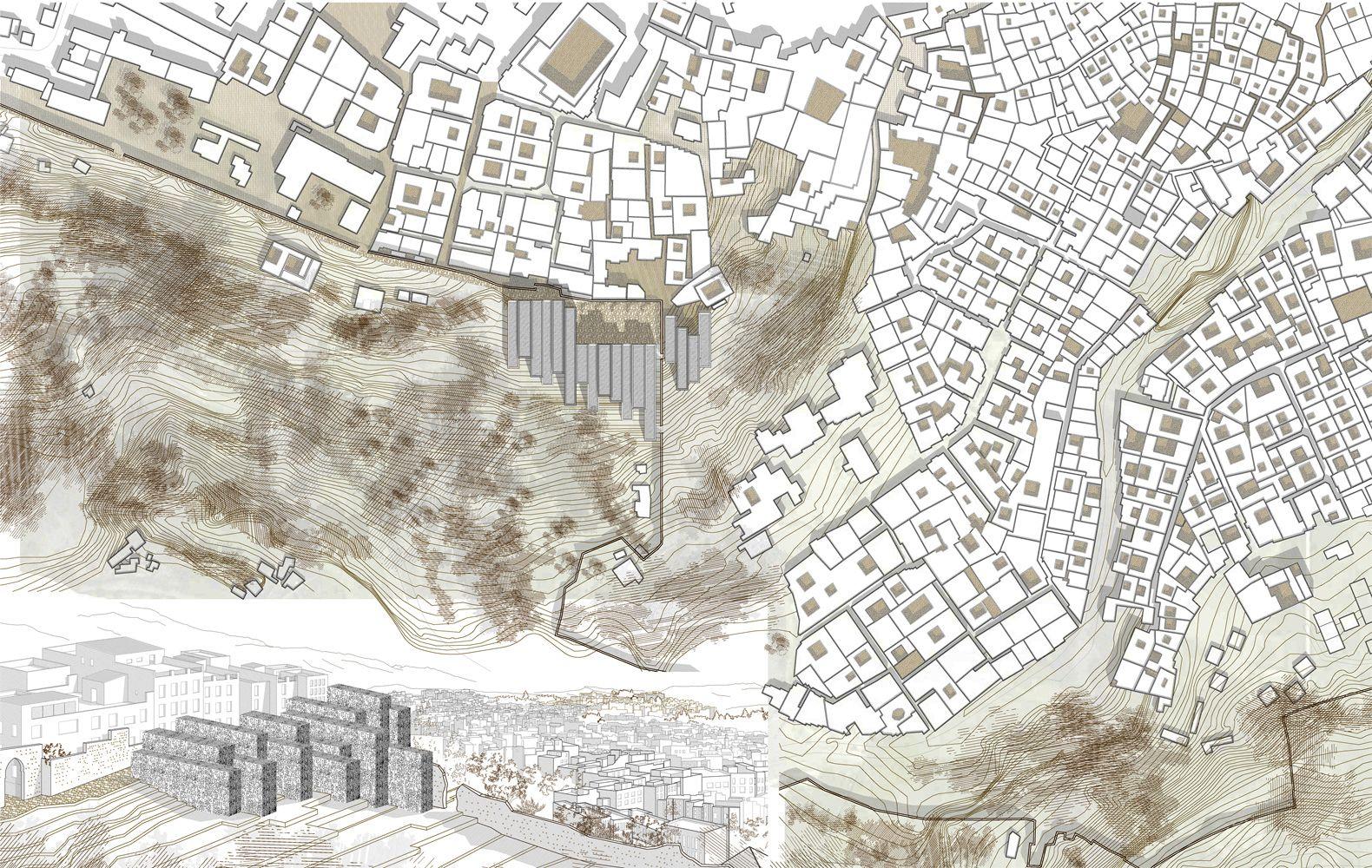 Plano de emplazamiento urbanismo arquitectura for Planos de arquitectura