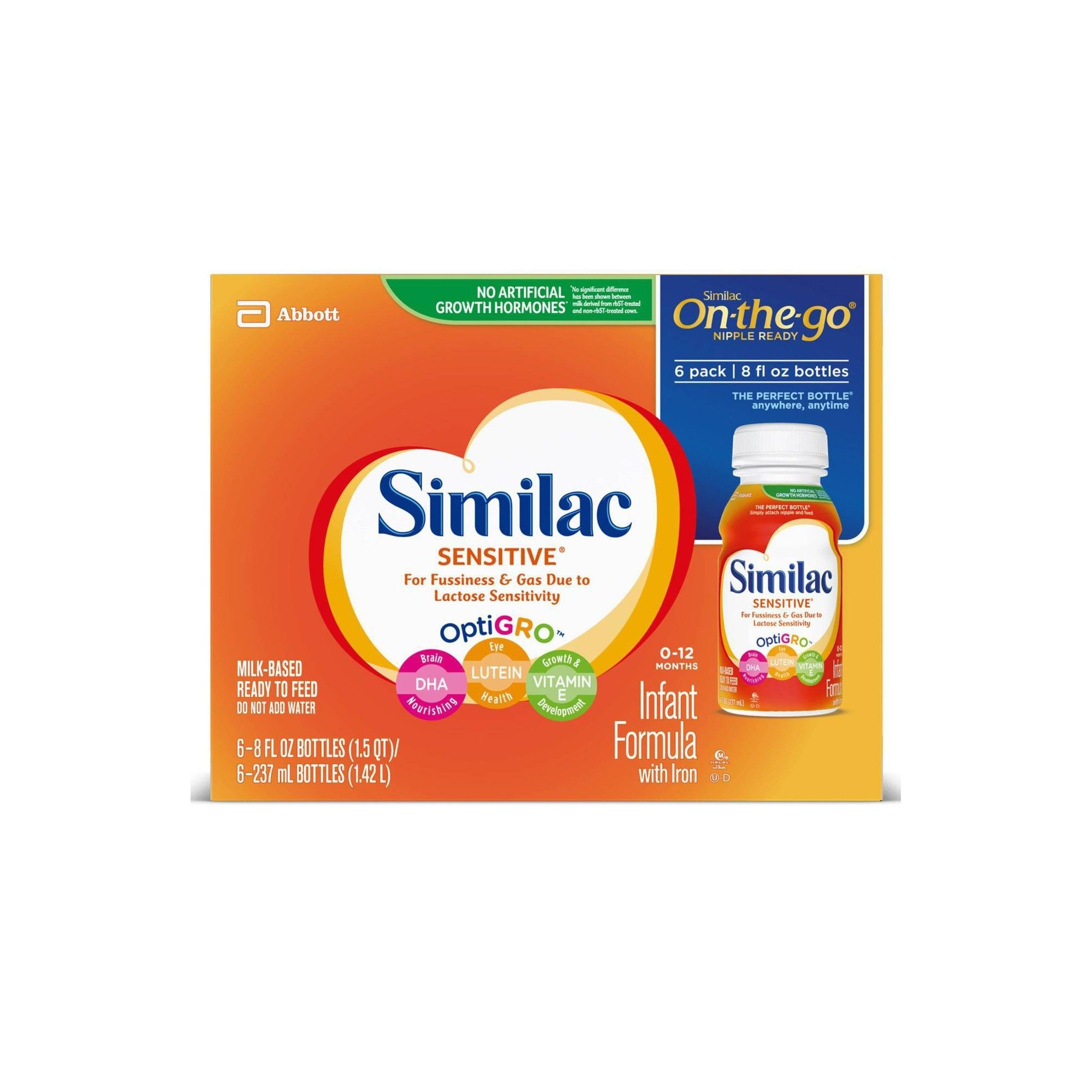 Similac Sensitive For Fussiness And Gas Infant Formula With Iron